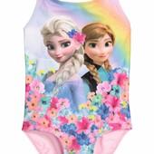"""Детский купальник для девочки """"Эльза и Анна"""" . 1,5-2 года"""