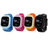 Smart baby watch Q60s (цветной экран) GPS распродажа, голубой
