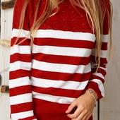 Яркие стильные вязаные свитера