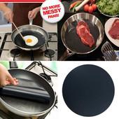 Тефлоновый антипригарный коврик для сковородки