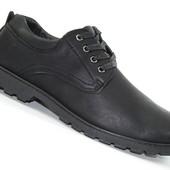 Мужские туфли Dual Black Классика