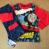Классные котоновые пижамки с любимым Томасом малышам из Англии