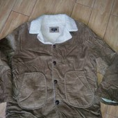 Новая теплая вельветовая куртка DBJ p.XL