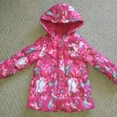 Куртка яркая на 2-3 г