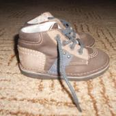 кожаные ботиночки.Размер 25