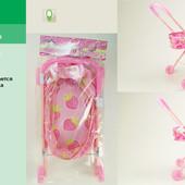 Коляска для кукол мод.826-AL