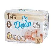 Подгузники Dada Little One 1 Newborn- 28 шт дада