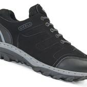 Мужские демисезонные кроссовки Aierlu Black