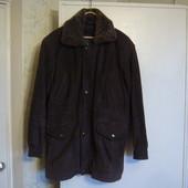 куртка мужская зимняя  на меху! натуральная кожа! р. 52-54