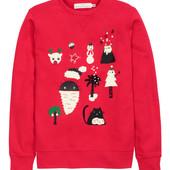 H&m  веселый свитер