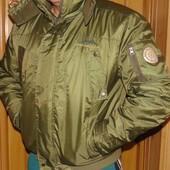 Фирменная стильная зимняя курточка бренд  Ice land.л-м .