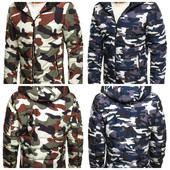 Мужская демисезонная куртка в стиле милиитари