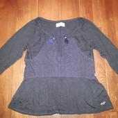 Трикотажная блуза от hollister! p.-xs