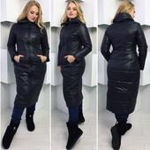 Пальто женское дутое Зима. Размеры :42 ,44,46 (2с