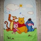 Мягенькое одеяльце, пледик для крохи Disney 102 74