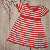 1-2 г. (80-92 см) Платье (вязка) на девочку