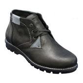 Мужские кожаные  зимние ботинки на меху. Из натуральной кожи!