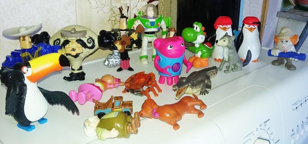 Игровые фигурки, игрушки макдональдс качественные, с функциями. мексиканцы, вуди, баз, був, жук фото №1