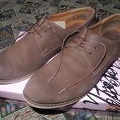 Туфли кожаные 40р 27 см