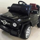 Лицензионный электромобиль Mercedes eblrs-2, автопокраска черный