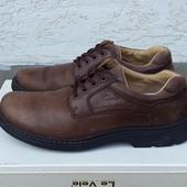 Кожаные туфли ботинки Claks 45 р.
