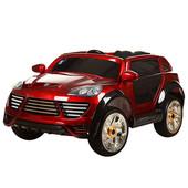 Лицензионный электромобиль Porsche Cayenne m2735 eblrs-3 колеса EVA, автопокраска бордовый