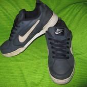 Кроссовки Nike, р.39 стелька 26см Кожа