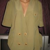 Пиджак двубортный,на подкладке,р.52-54.