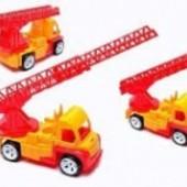 Пожарная машина Алекс, 40х28х19 см