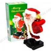 Дед Мороз   20 см, музыка, движение