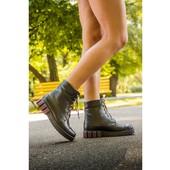 """натуральные ботинки в стиле """"Милитари"""", """"Casual"""", """"Grunge""""."""