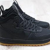 Кроссовки Nike Air Force р. 41,42,43,46, натур. кожа, код ks-2173