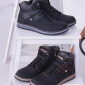 Отличные мужские зимние ботинки, 3 цвета