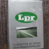 Колодки тормозные дисковые, комплект задние мазда 6