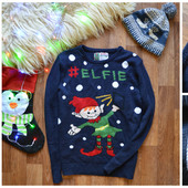 Стильный мужской свитер с Эльфом, р-р М