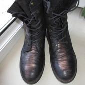 Кожаные итальянские  ботинки Mjus 40 р