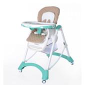 New! Стульчик для кормления Carrello Caramel Baby Tilly crl-9501, green