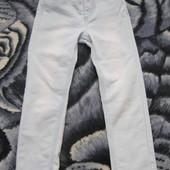 Очень красивые стрейчевые джинсы скинны зауженные на девочку 7-8 лет 128 см рост