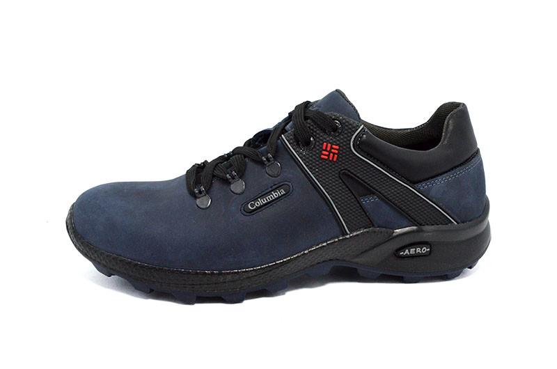 Кроссовки columbia leather aero blue фото №1