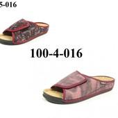 100-5-016 , 100-4-016 Тапочки женские очень комфортные, уютные, удобные, Инблу, Inblu.,велюр
