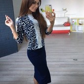 Костюм двойка( юбка+ кофта)