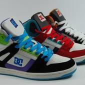 Мужские кроссовки DC высокие 3 цвета