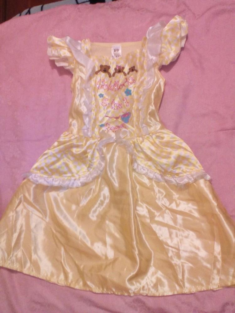 ebe7c6b115c5253 Карнавальное новогоднее платье маши (маша и 3 медведя) на 3-5лет l&d фото