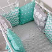 Бортики защита для люльки и детской кроватки