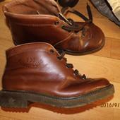 итальянские кожаные ботинки 38-39 р