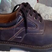 Шкіряні демісезонні  брендові черевики Lock. oстання пара.