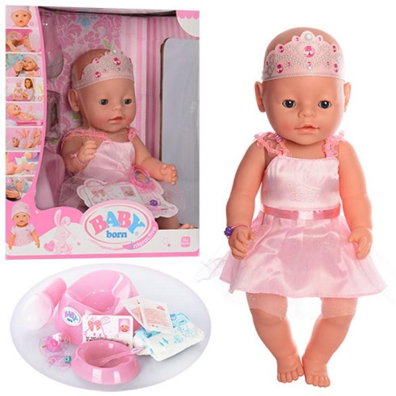 Кукла пупс baby born, беби борн. беби бон. малятко немовлятко фото №1