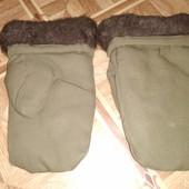 Перчатки на меху для работы уп12