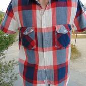 Фирменная стильная брендовая рубашка Brave Soul S-M