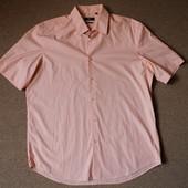 Рубашка  Hugo Boss по вороту 43